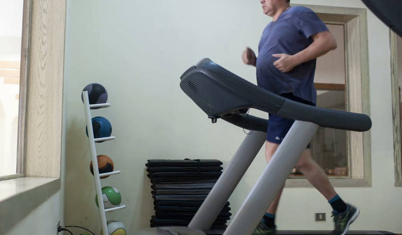 Treadmill walking for seniors