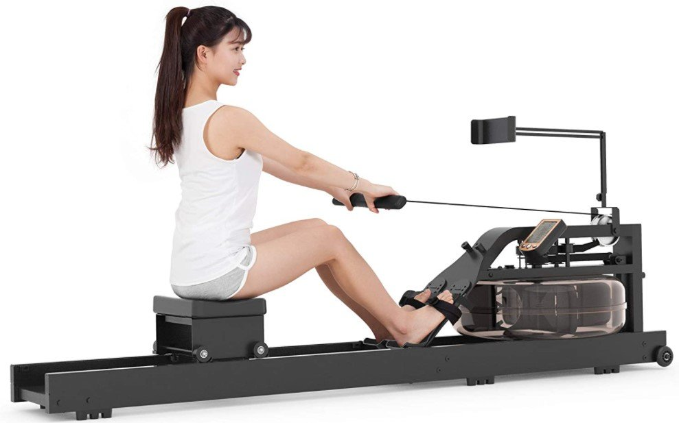 How To Assemble And Use Marnur Water Rowing Machine