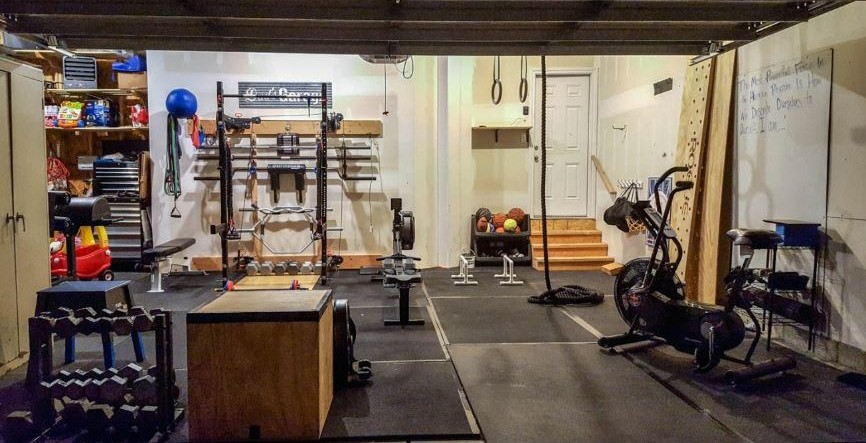 Safe to Build a Home Gym on the Second Floor